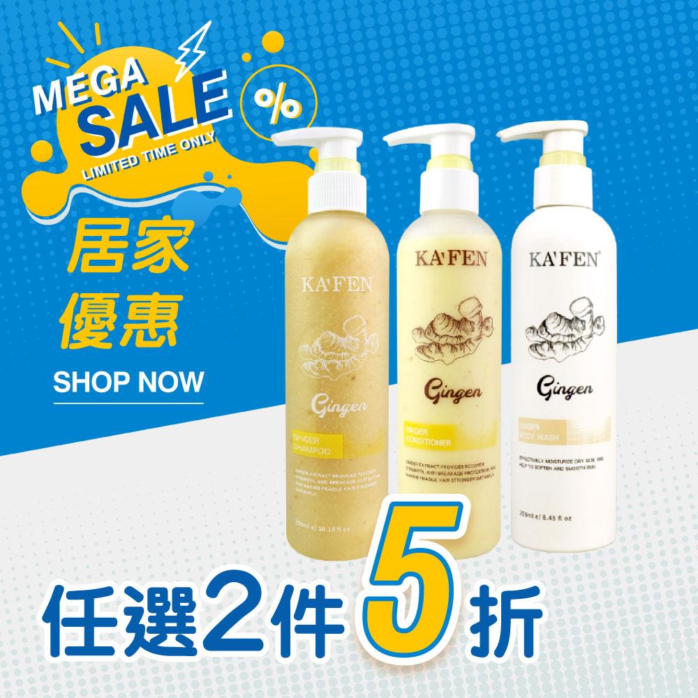 【6月血拼攻略】【兩件5折】生薑洗護沐系列250ml