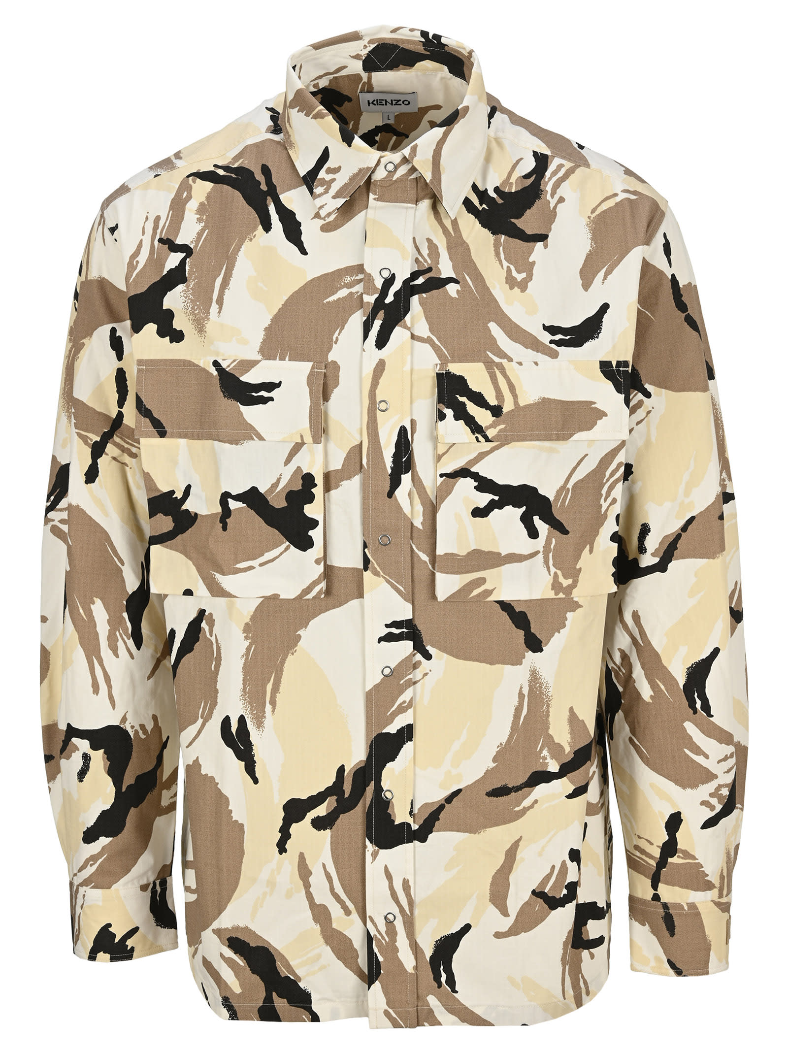 Kenzo Tropic Camo Overshirt