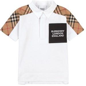 Burberry White Jonathan Polo Shirt 12 years