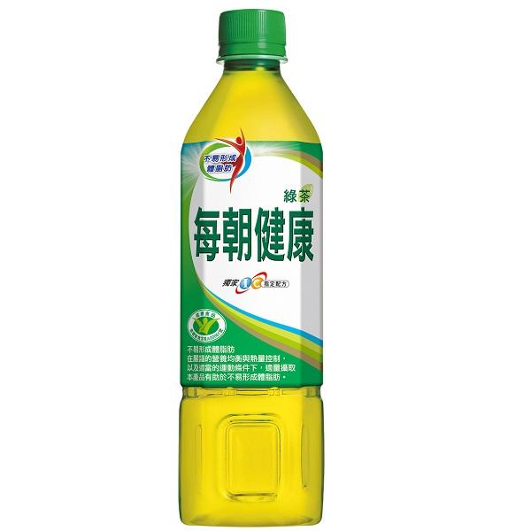 每朝健康綠茶650ml *團購*24入