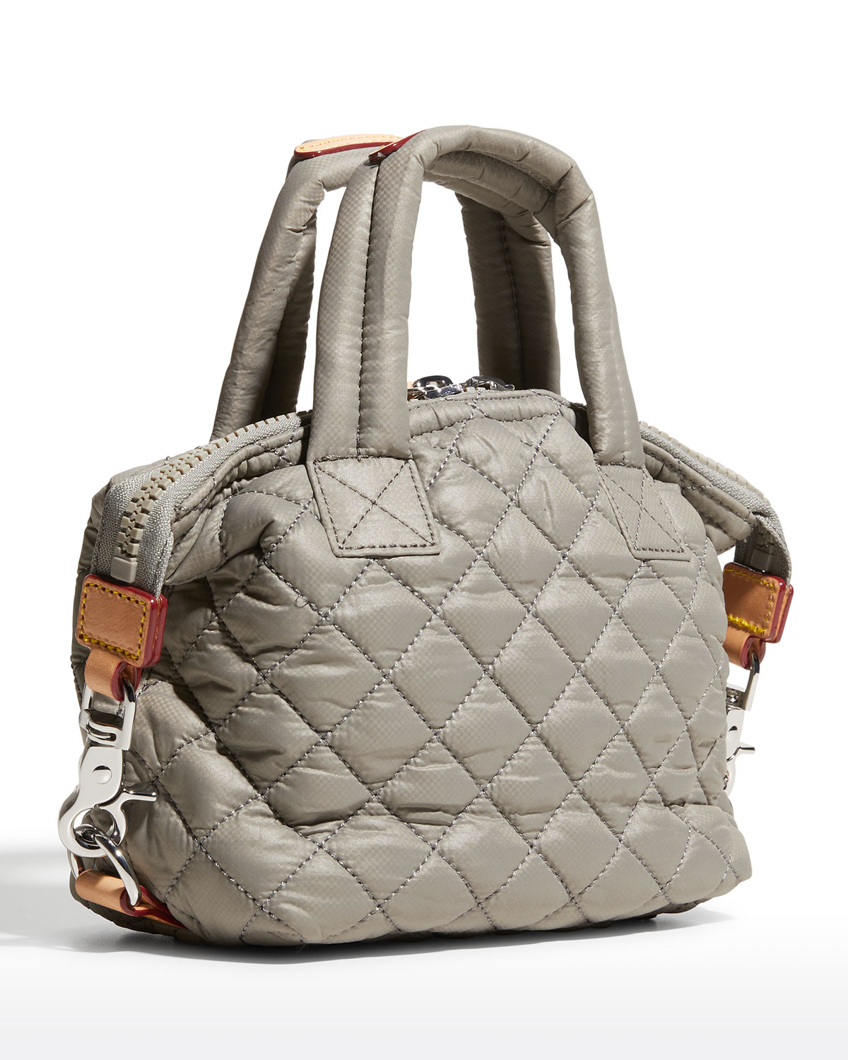 Micro Sutton Quilted Crossbody Tote Bag