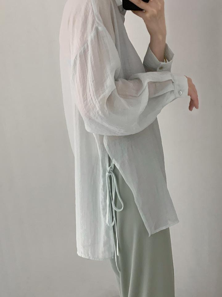 【missy shop】透露甜美襯衫-80175