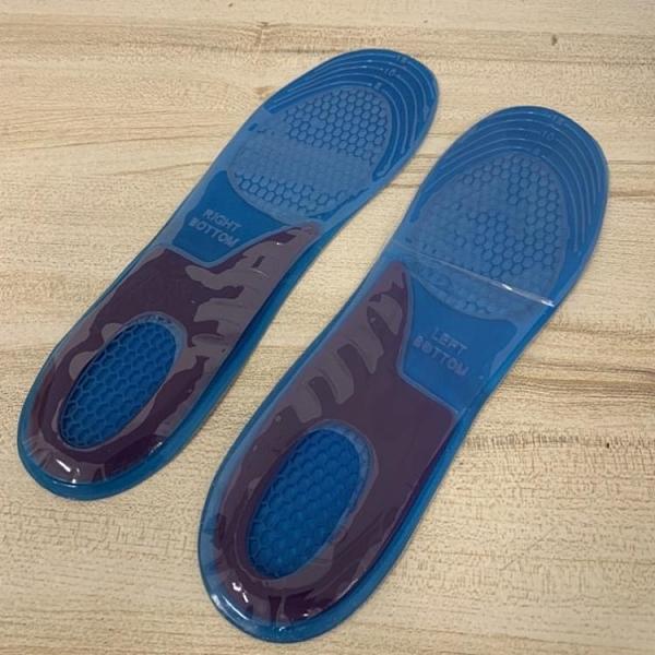 加厚鞋墊防震鞋墊運動鞋墊硅膠鞋墊超軟全腳掌墊防痛防磨鞋墊(32*8/777-12130)