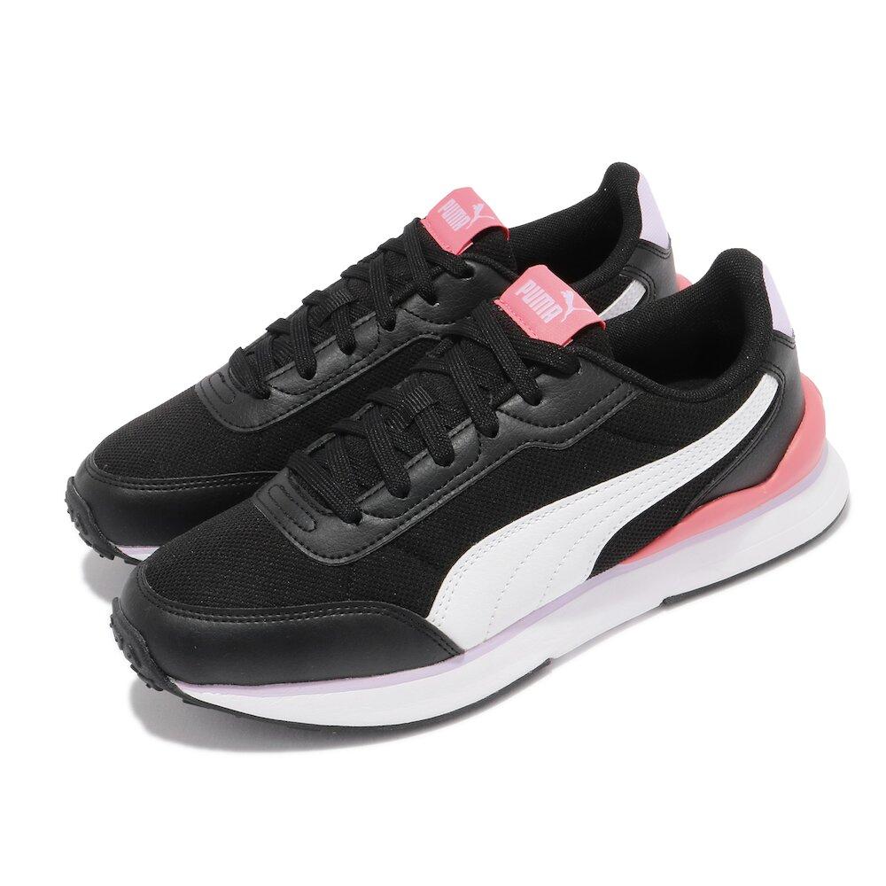 PUMA 休閒鞋 R78 FUTR Decon 女鞋 基本款 網布 透氣 復古 穿搭 黑 白 [37489606]