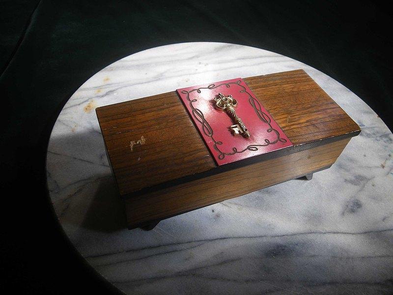 【老時光 OLD-TIME】早期日本音樂珠寶盒