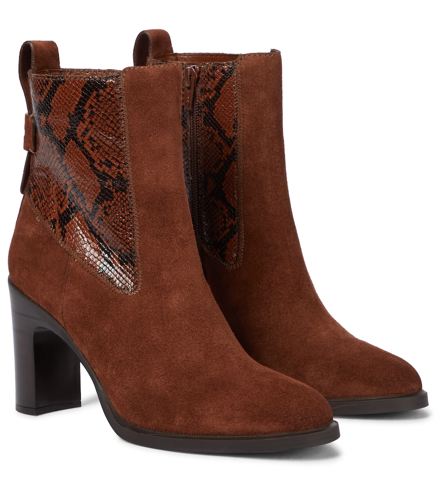 Annylee leather ankle boots