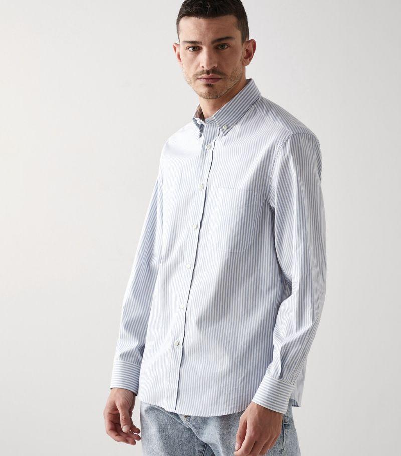 Brunello Cucinelli Cotton Striped Shirt