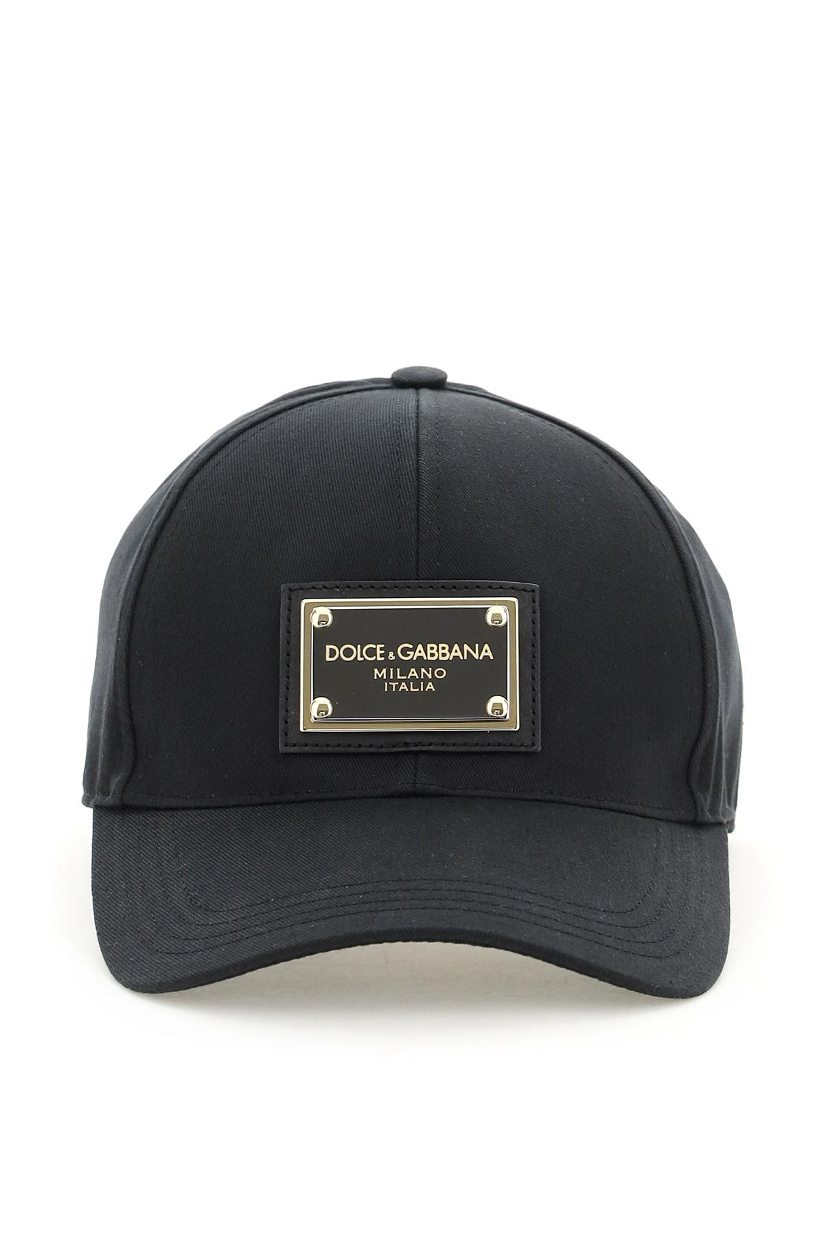 DOLCE & GABBANA BASEBALL CAP 59 Black Cotton