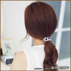 『坂井.亞希子』日系簡約金屬鍊條造型髮圈