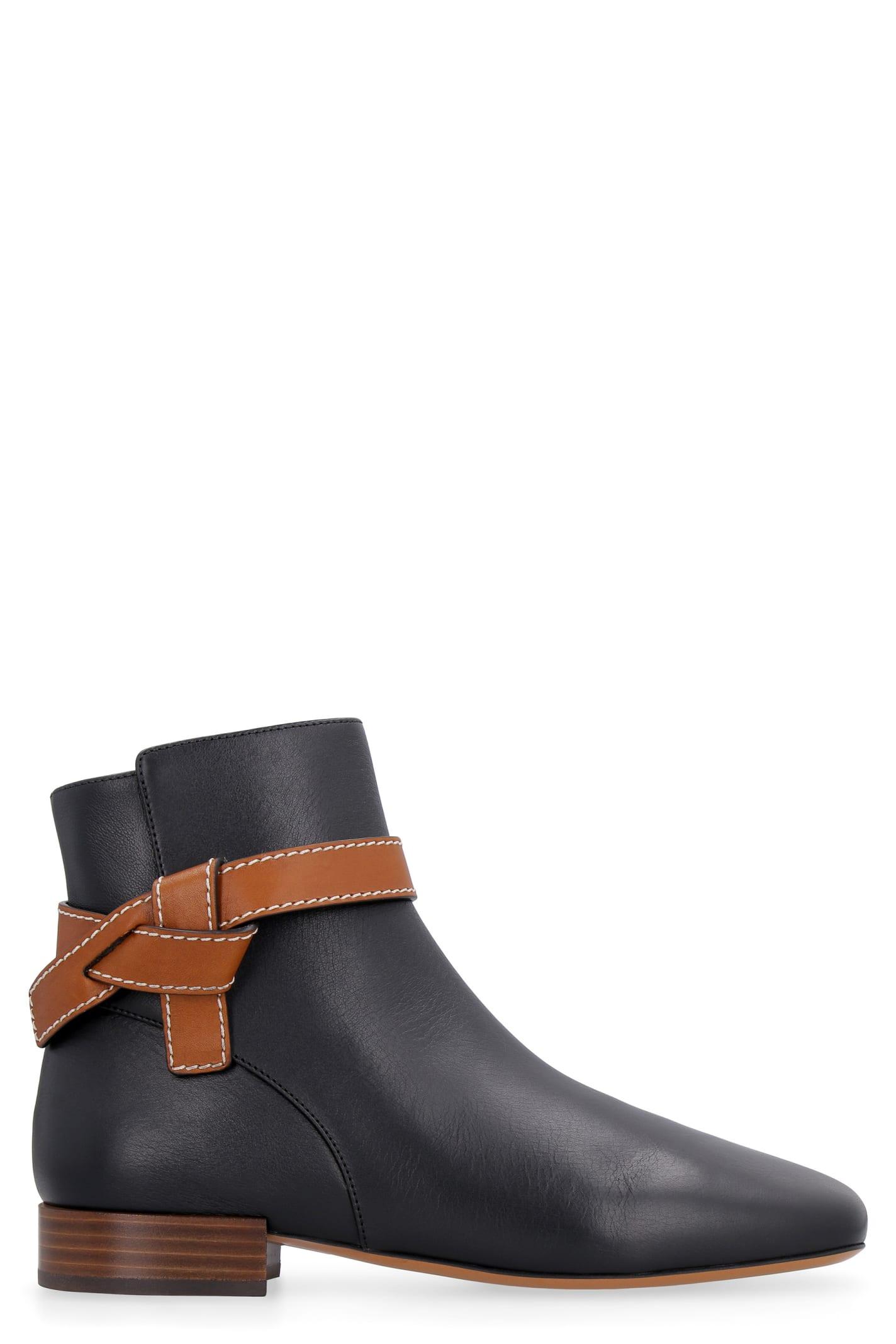 Loewe Leather Gate Boot 25