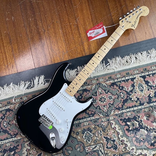 【凱傑樂器】Fender Classic Series 70s Stratocaster 楓木 電吉他 黑色
