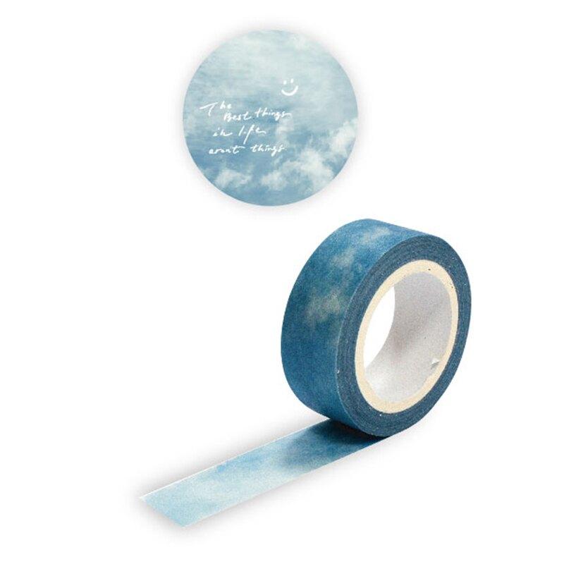【618購物節 最低五折起】紙膠帶 天空藍BMT-18