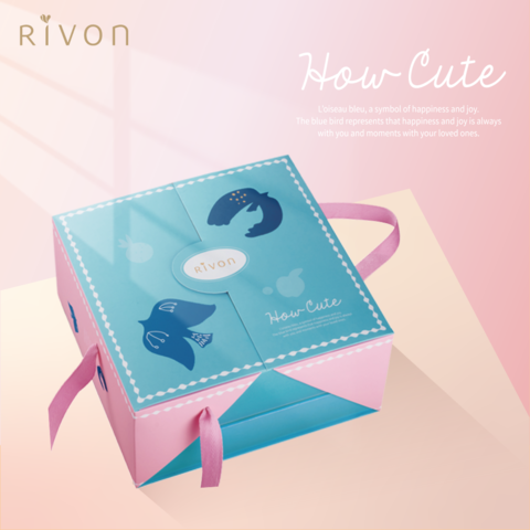 【Rivon禮坊】蛋生-好萌禮盒-青鳥粉紅