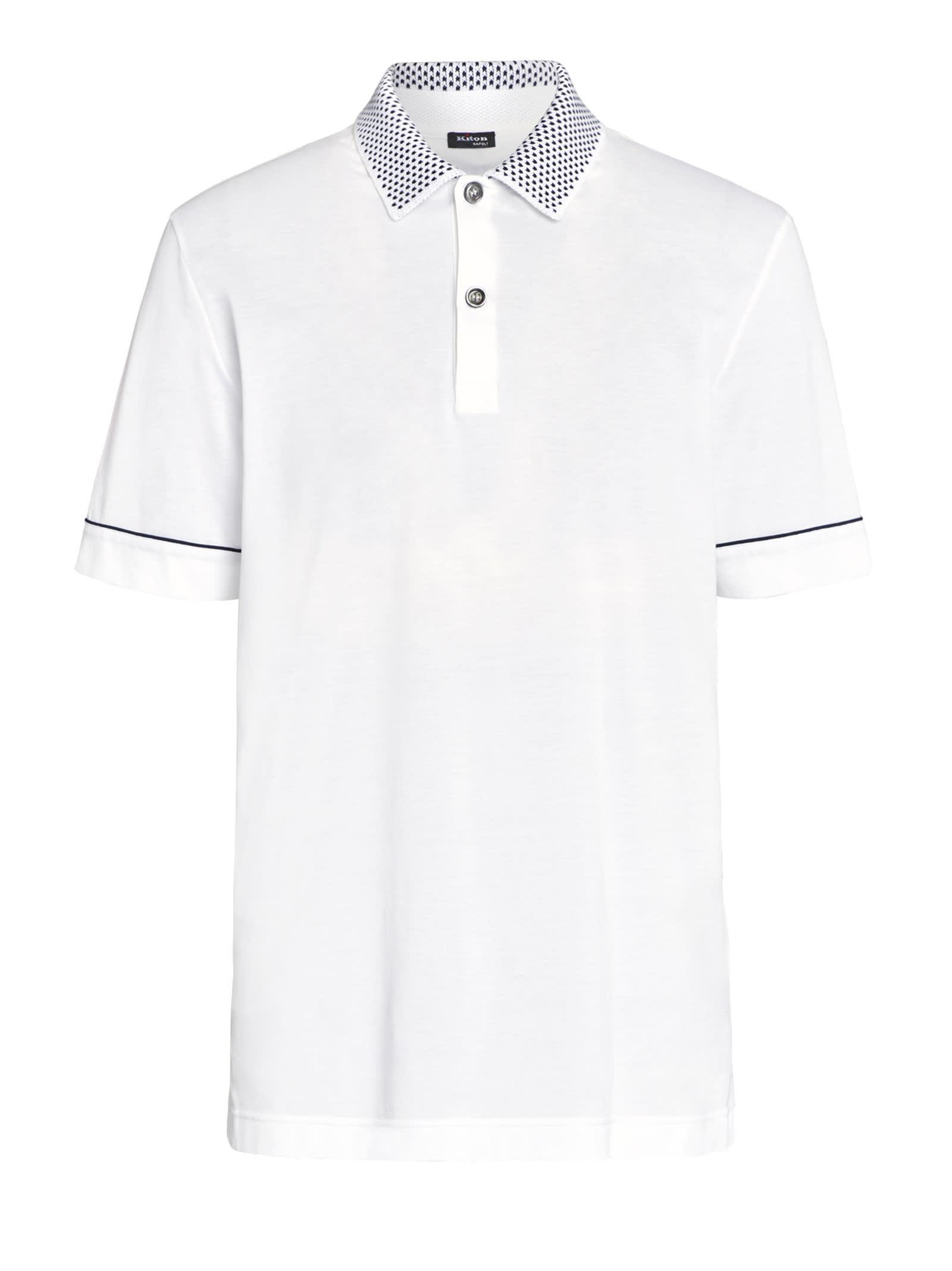 Kiton Jersey Polo Cotton