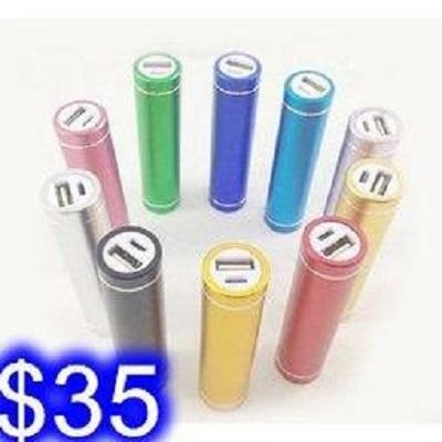 鋁合金圓柱免焊接行動電源外殼 帶彈簧單/1節18650電池充電寶外殼(不含電池) J-13
