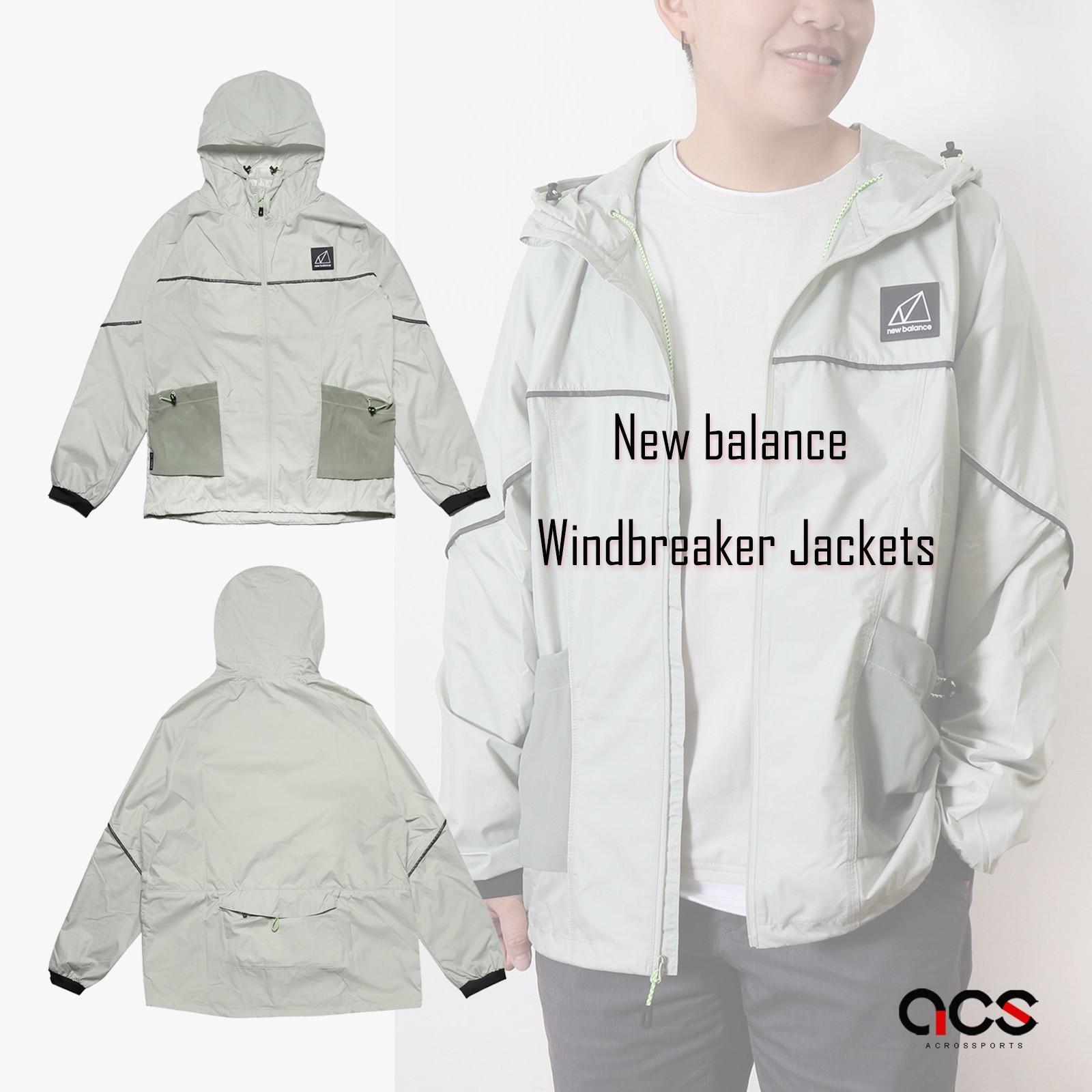 New balance 外套 Windbreaker Jackets 男女款 風衣【ACS】WJ11590SP4