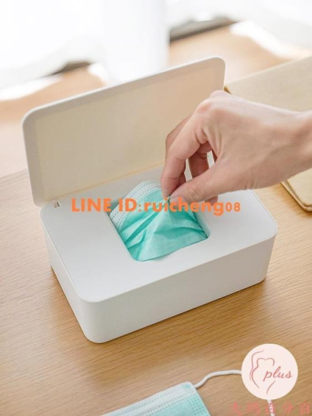 口罩盒收納盒大容量口鼻罩暫存口罩盒子隨身攜帶家用【大碼百分百】