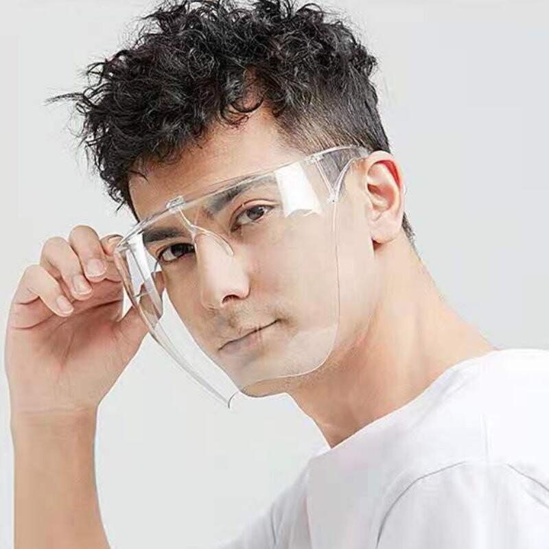 dy102面罩護目鏡-防起霧款 防護面罩 防霧高清 全臉護目鏡 防風沙.油煙.飛沫
