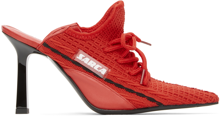 Ancuta Sarca 红色 R1 Sneaker 穆勒鞋