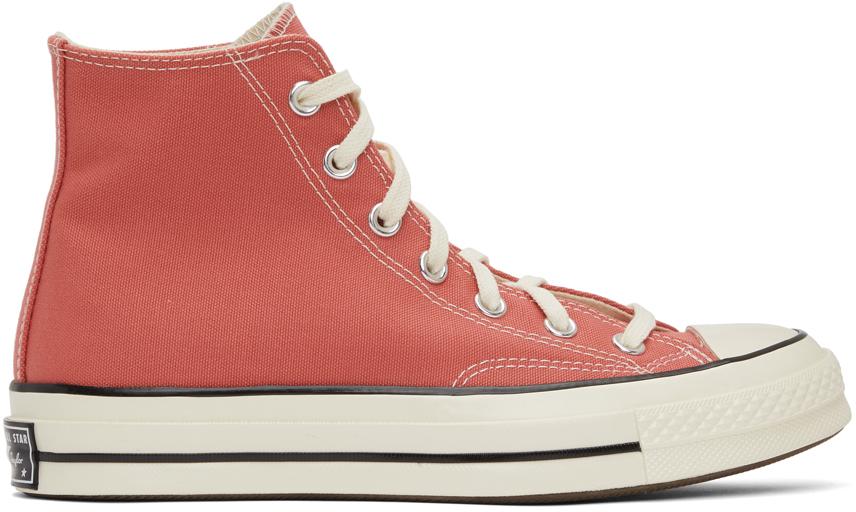 Converse 粉色 Chuck 70 高帮运动鞋