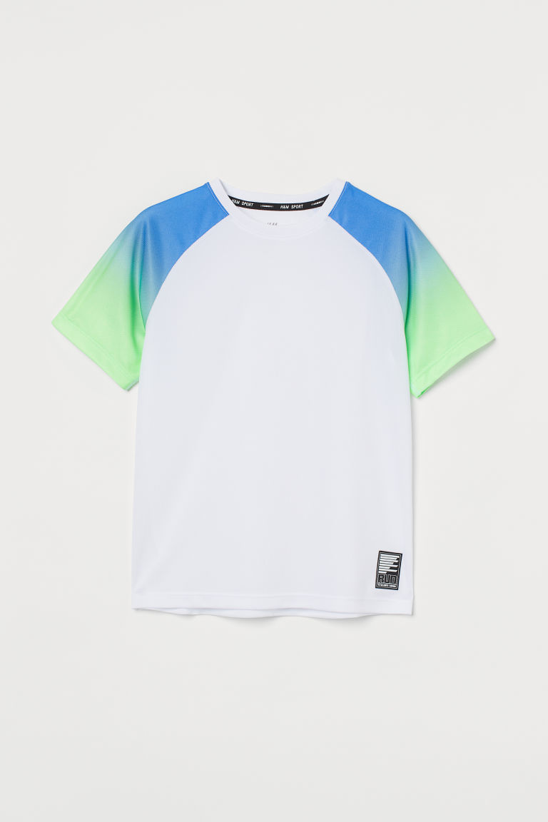 H & M - 運動上衣 - 白色