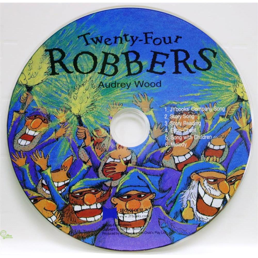 Twenty-Four Robbers (1 CD only) 廖彩杏老師推薦有聲書第2年第2週【禮筑外文書店】