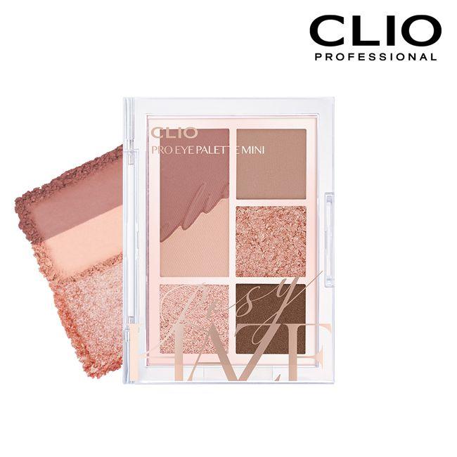 CLIO珂莉奧 六色同調迷你眼影盤02玫瑰棕