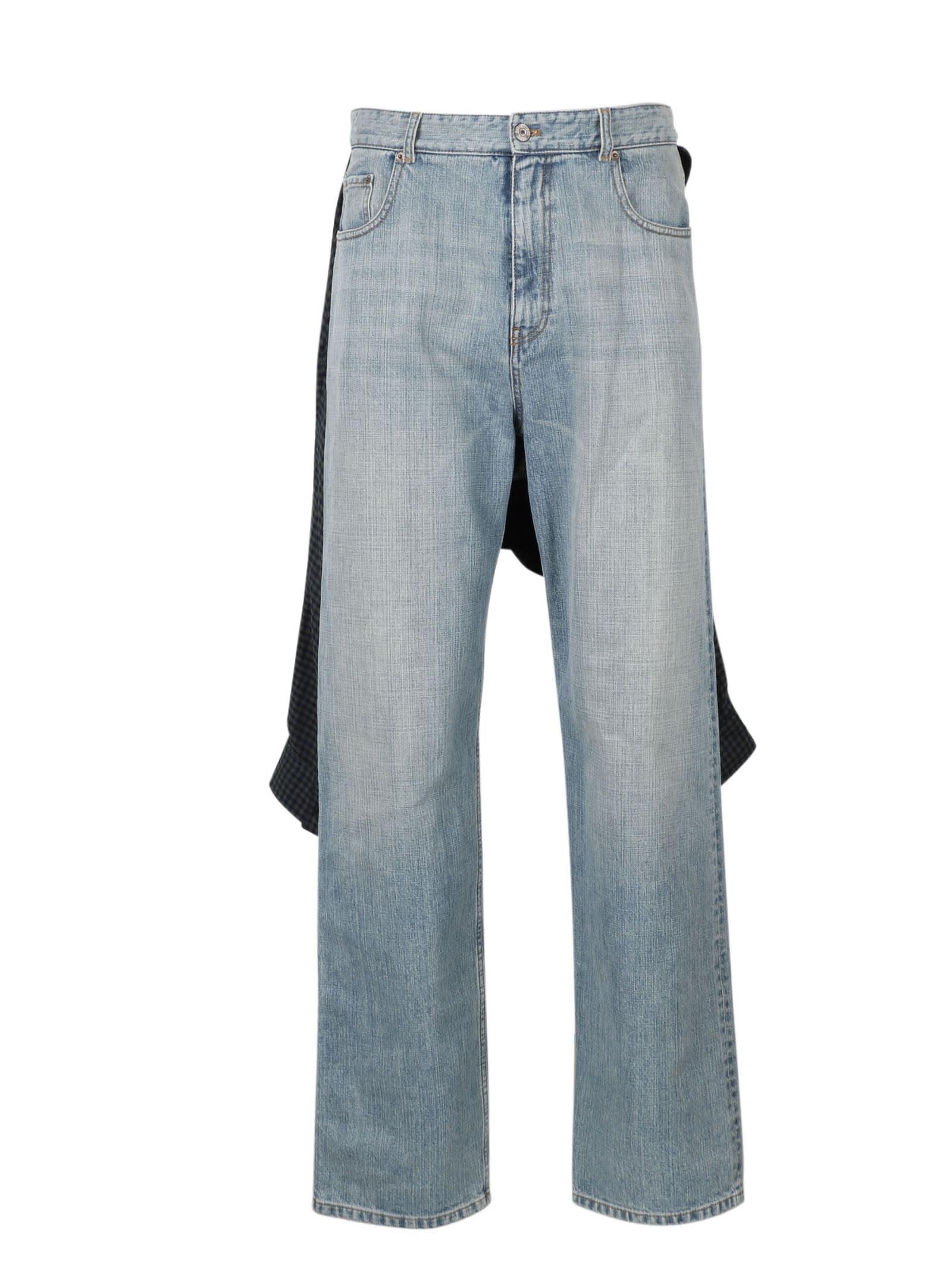 Balenciaga Hybrid Shirt Jeans