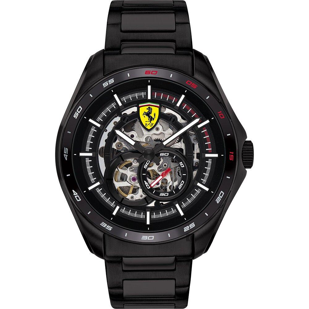 Scuderia Ferrari 法拉利 鏤空機械錶(FA0830708)-44mm