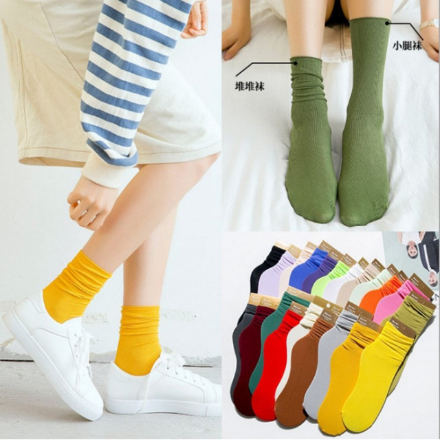 襪子女春夏新款天鵝絨韓國冰冰襪女 2入