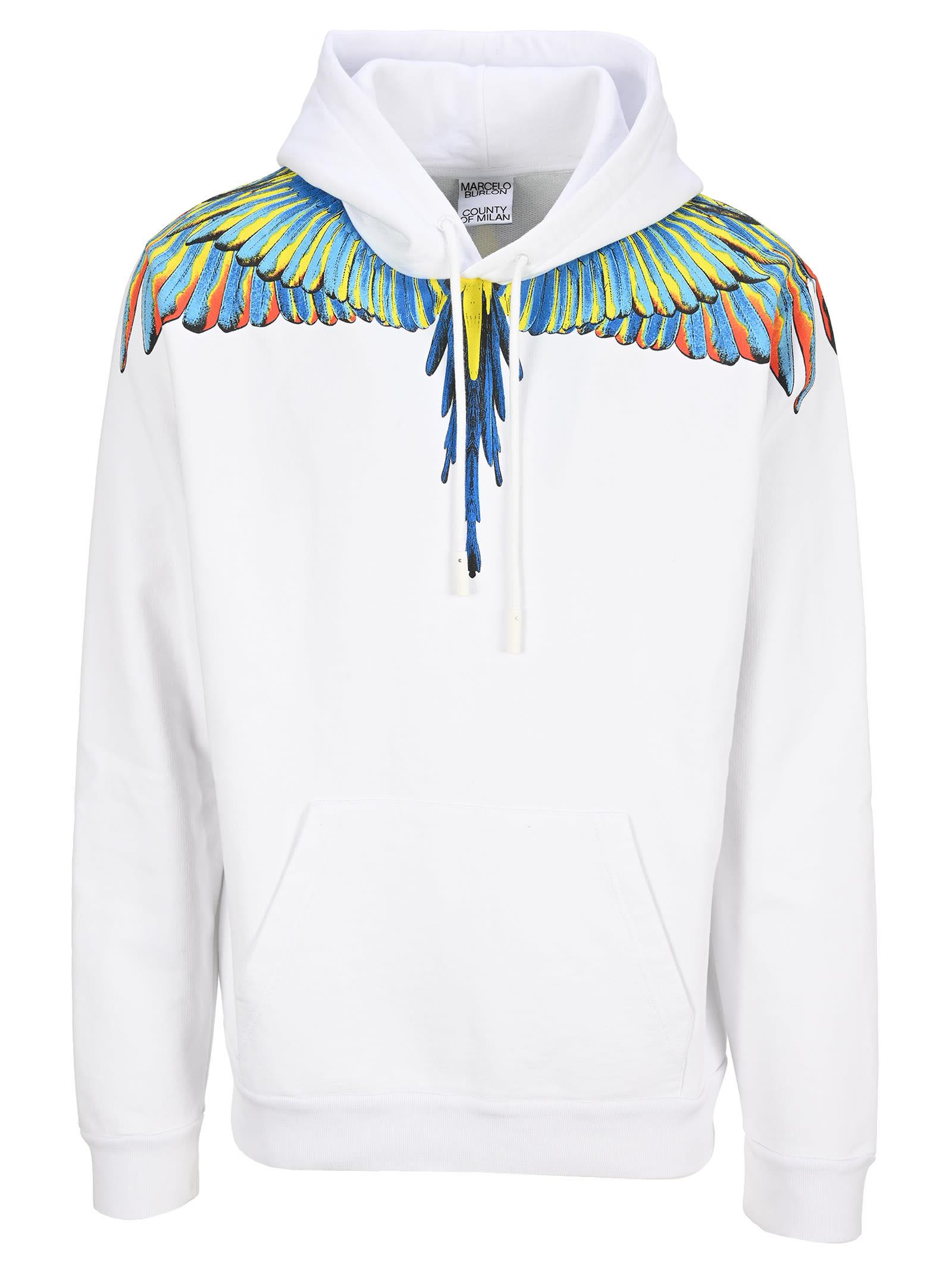 Marcelo Burlon Wings Hoosie