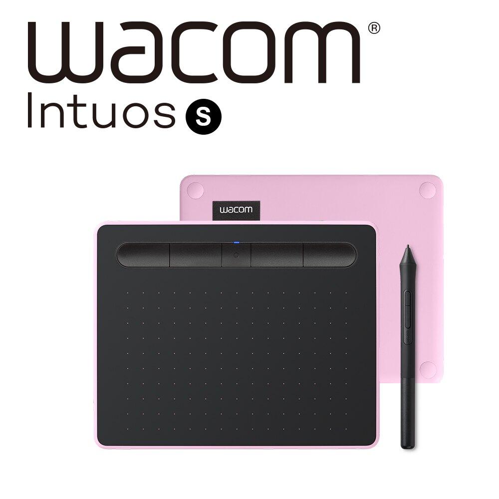 ..  Wacom Intuos Comfort Small 藍牙 繪圖板 (小) 粉色 公司貨 WACTL-4100WL/P0