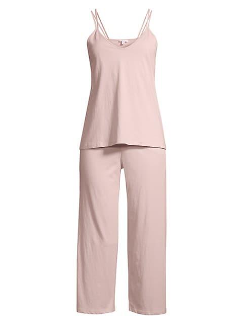 Suri 2-Piece Double-Strap Camisole & Pants Pajama Set