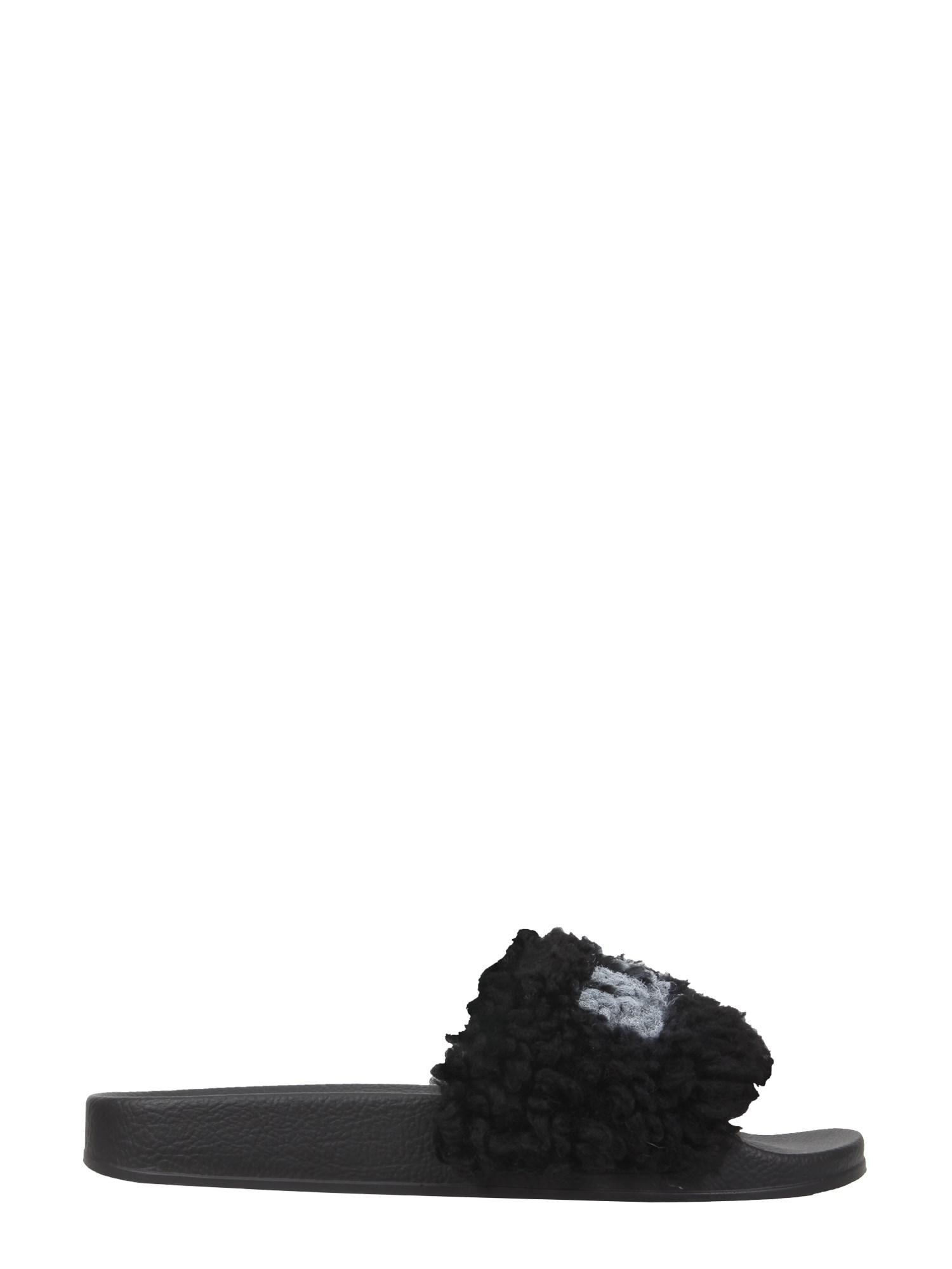 marni slide sandals with logo