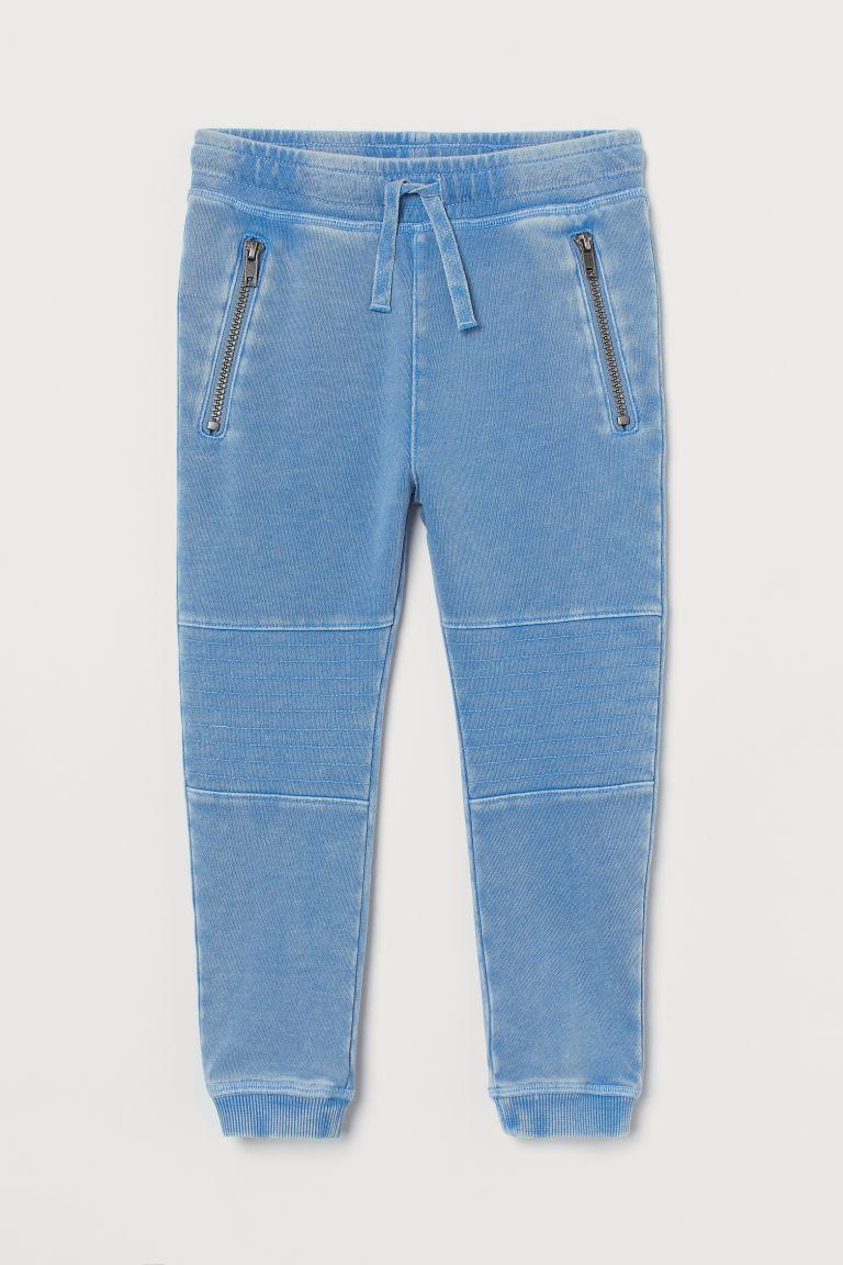 H & M - 騎士慢跑褲 - 藍色