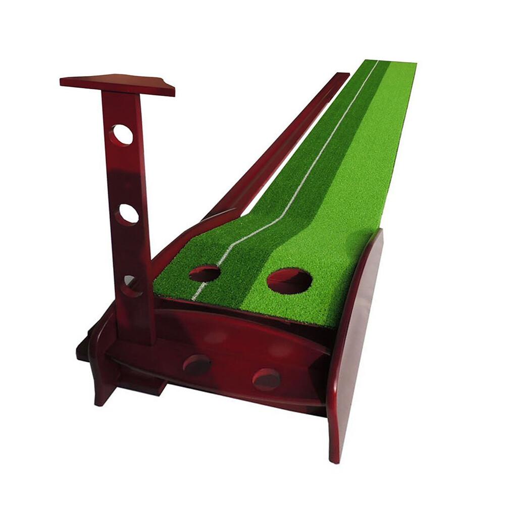 posma pg060 高爾夫推桿練習毯-木製底座