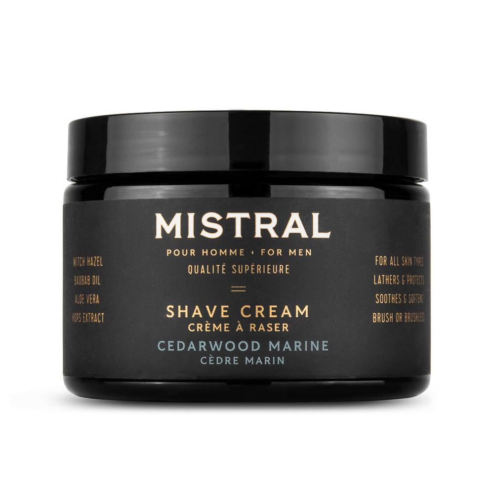 Mistral - 極致刮鬍膏(海洋雪松 / 大容量)敏感肌好用推薦 刮鬍泡刮鬍皂 剃鬚膏剃鬚泡剃鬚皂刮鬍乳刮鬍霜