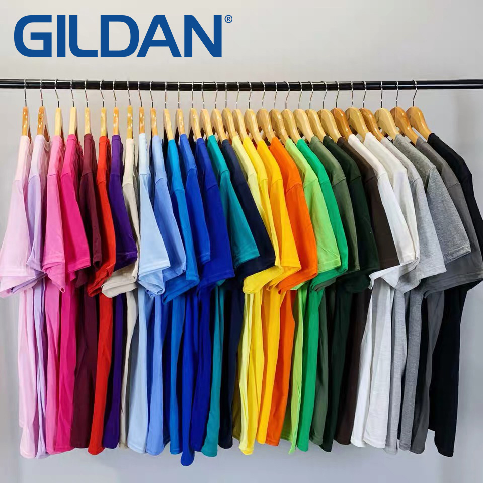 美國純棉品牌 吉爾登 GILDAN 76000 男女 亞規柔棉中性T恤 XS到3XL【QGD76000】