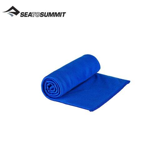 【澳洲SEA TO SUMMIT】口袋型抗菌快乾毛巾(盒裝) STSAABPOCTMC(M)艷藍