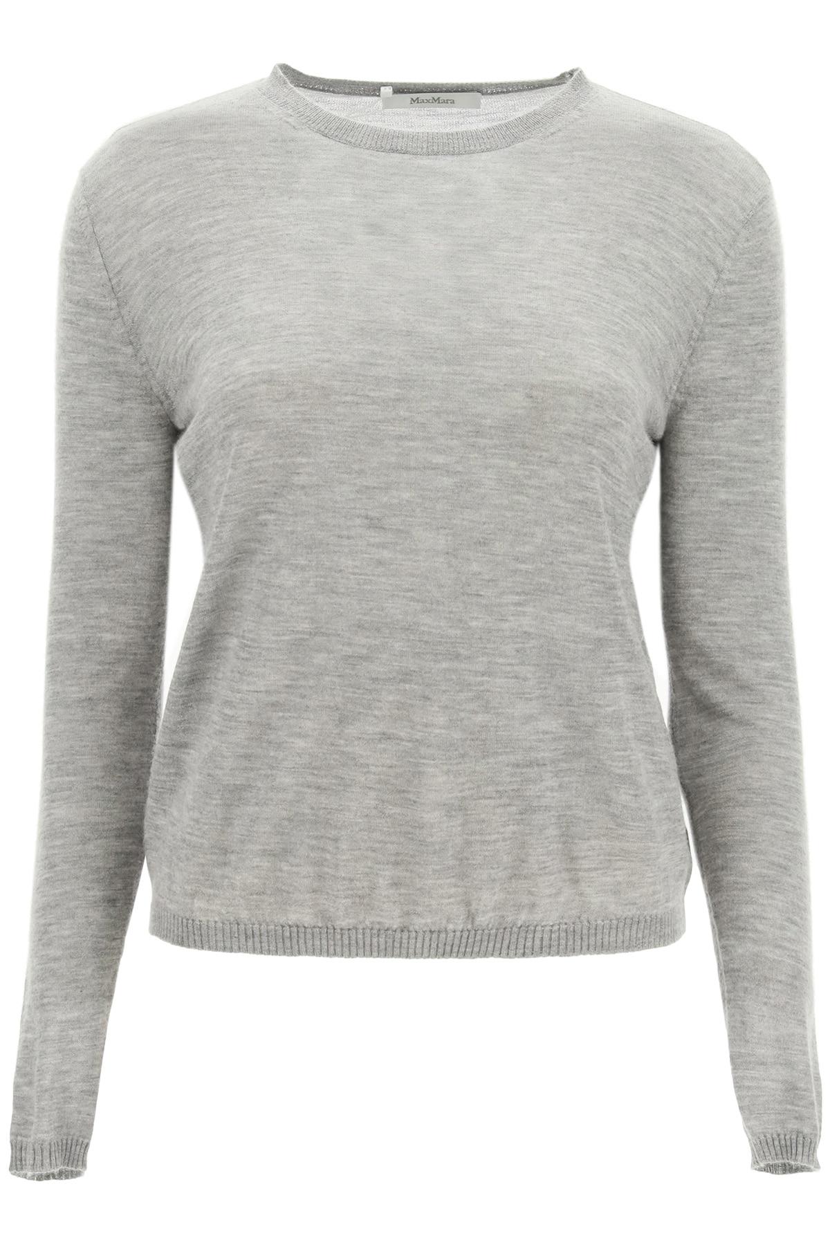 MAX MARA CASHMERE SWEATER XS Grey Cashmere