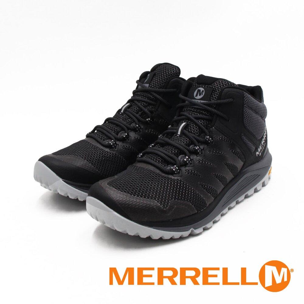MERRELL(男)NOVA 2 MID GTX防水郊山健行中筒鞋 男鞋-黑(另有綠)
