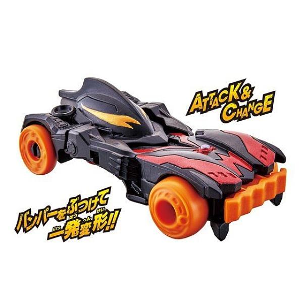 正版 BANDAI 超人力霸王變形車 貝利亞 BELIAL 變形車 小車 COCOS FG690