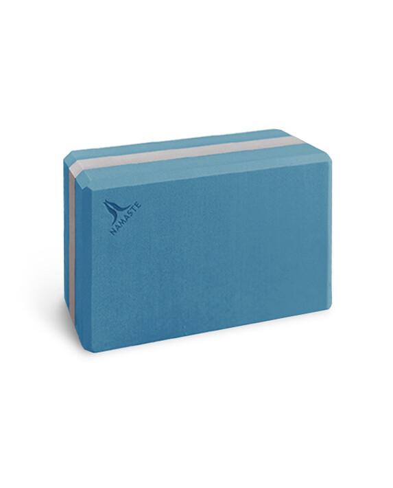 namasteyoga block (m) - blue  大磚-藍色