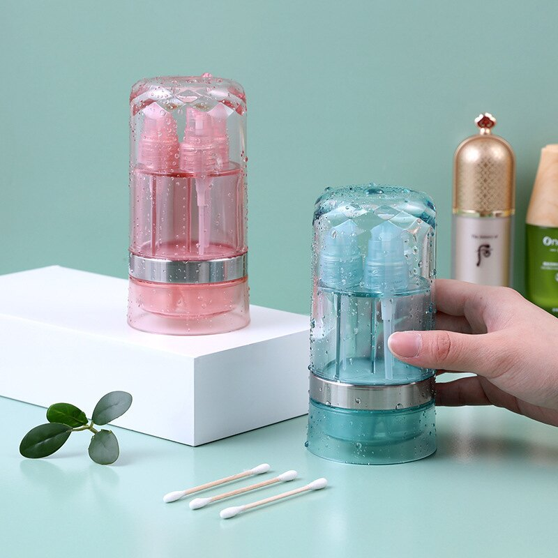 ETRAVEL易旅分裝瓶便攜化妝品分裝瓶六合一透明噴霧瓶差旅