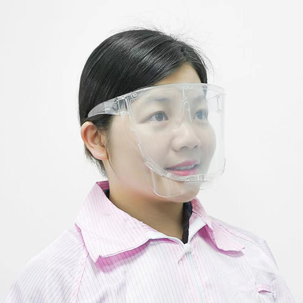 【預購】全臉輕巧防護面罩-透明