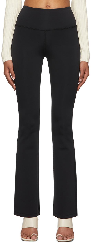Danielle Guizio 黑色 Flared Stretch 长裤