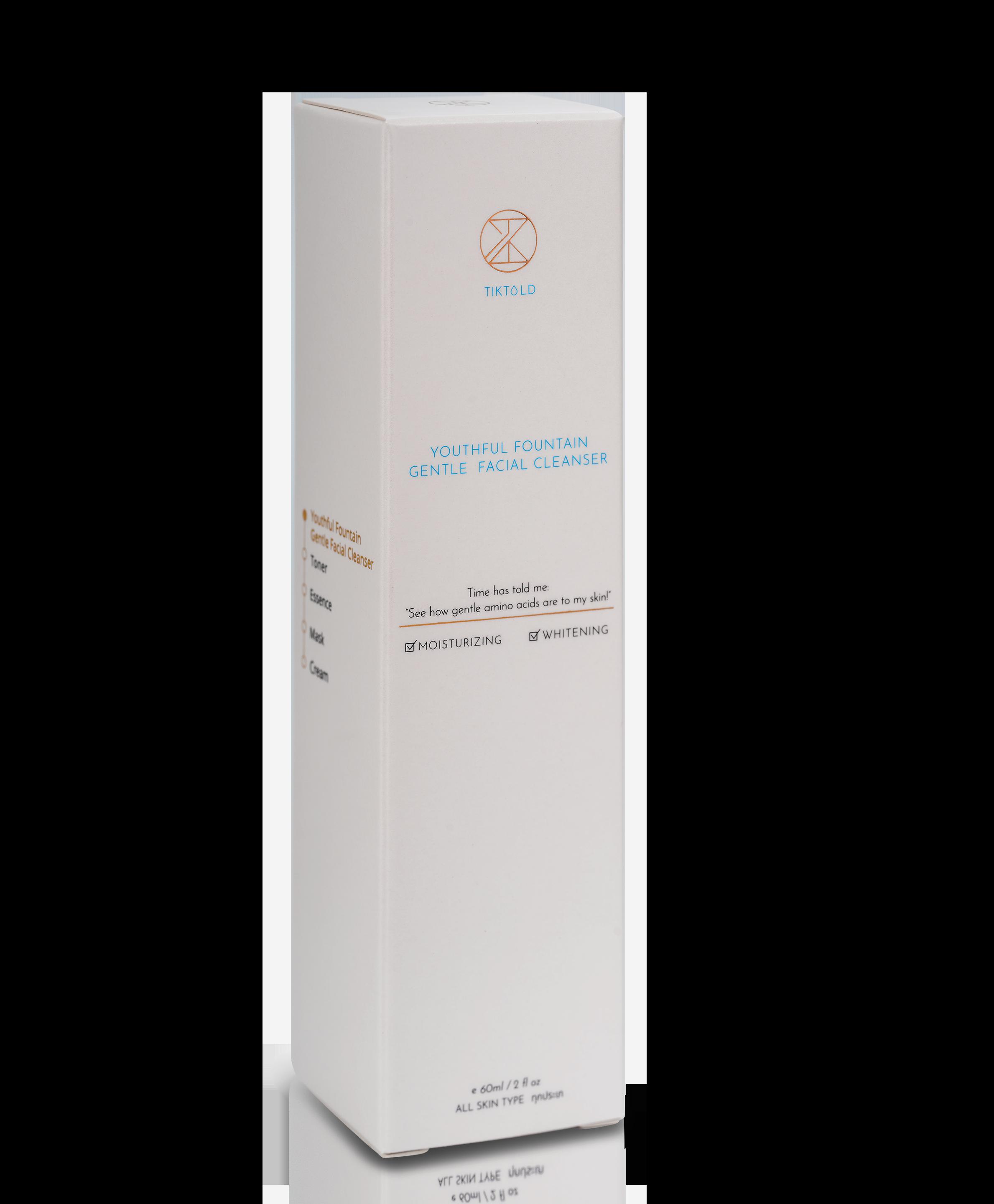 剔透 Tiktold 青春活泉溫和潔顏霜 60mL 去除臉部油脂和污垢,締造潔淨剔透好膚色