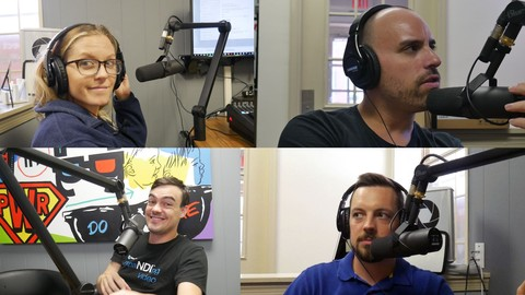 Live Streaming your Podcast - Building a Podcasting Studio