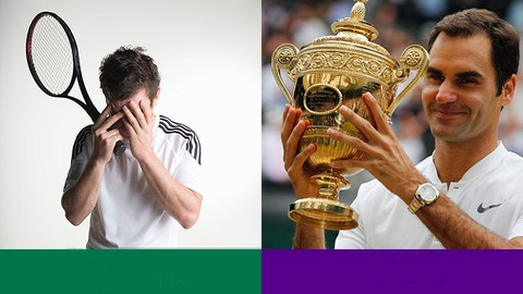 How to destroy anxiety in tennis