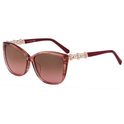 SWAROVSKI 水鑽 太陽眼鏡(粉色)SK291F
